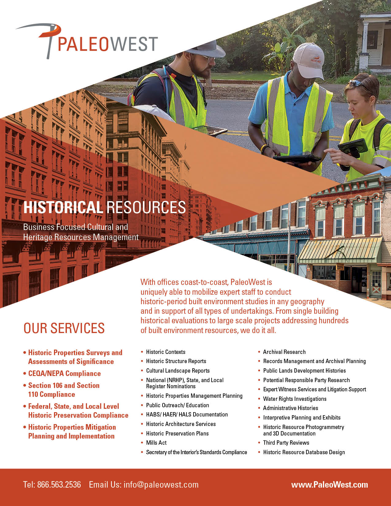 Historical Resources Cut Sheet